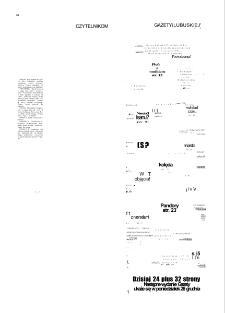 Gazeta Lubuska : magazyn : dawniej Zielonogórska-Gorzowska R. XL [właśc. XLI], nr 300 (23/24/25/26/27 grudnia 1992). - Wyd. 1