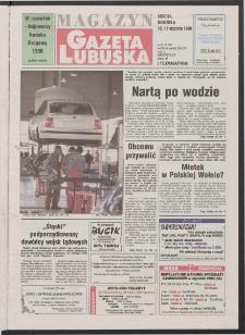 Gazeta Lubuska : magazyn R. XLVI [właśc. XLVII], nr 8 (10/11 stycznia 1998). - Wyd 1