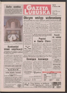 Gazeta Lubuska R. XLVI [właśc. XLVII], nr 19 (23 stycznia 1998). - Wyd 1