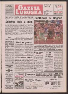 Gazeta Lubuska R. XLVI [właśc. XLVII], nr 33 (9 lutego 1998). - Wyd 1