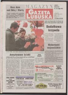 Gazeta Lubuska : magazyn R. XLVI [właśc. XLVII], nr 38 (14/15 lutego 1998). - Wyd 1