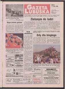 Gazeta Lubuska R. XLVI [właśc. XLVII], nr 41 (18 lutego 1998). - Wyd 1