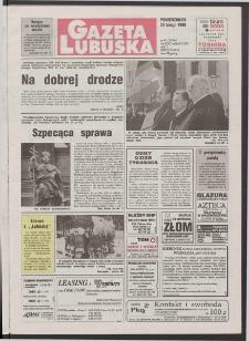 Gazeta Lubuska R. XLVI [właśc. XLVII], nr 45 (23 lutego 1998). - Wyd 1