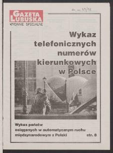 Gazeta Lubuska R. XLVI [właśc. XLVII], nr 47 (25 lutego 1998). - Wyd 1