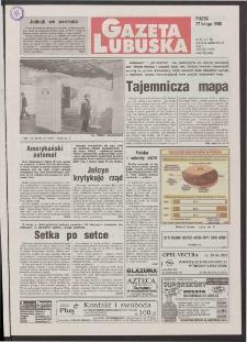 Gazeta Lubuska R. XLVI [właśc. XLVII], nr 49 (27 lutego 1998). - Wyd 1