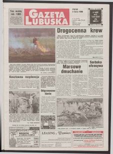 Gazeta Lubuska R. XLVI [właśc. XLVII], nr 55 (6 marca 1998). - Wyd 1