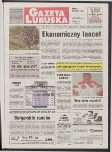 Gazeta Lubuska R. XLVI [właśc. XLVII], nr 59 (11 marca 1998). - Wyd 1