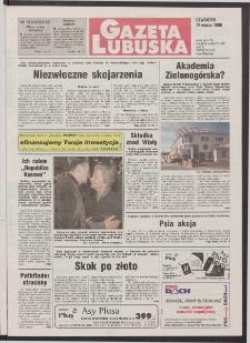 Gazeta Lubuska R. XLVI [właśc. XLVII], nr 60 (12 marca 1998). - Wyd 1