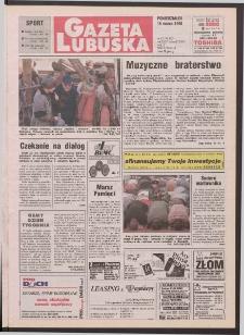 Gazeta Lubuska R. XLVI [właśc. XLVII], nr 63 (16 marca 1998). - Wyd 1