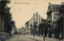 Żary / Sorau; Bahnhof-Straße