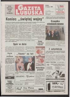 Gazeta Lubuska R. XLVI [właśc. XLVII], nr 71 (25 marca 1998). - Wyd 1