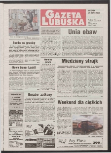 Gazeta Lubuska R. XLVI [właśc. XLVII], nr 76 (31 marca 1998). - Wyd 1