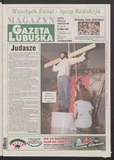 Gazeta Lubuska : magazyn R. XLVI [właśc. XLVII], nr 86 (11/12/13 kwietnia 1998). - Wyd 1