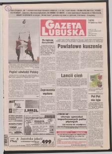 Gazeta Lubuska R. XLVI [właśc. XLVII], nr 90 (17 kwietnia 1998). - Wyd 1