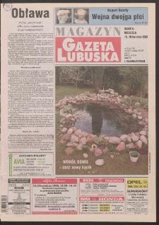 Gazeta Lubuska : magazyn R. XLVI [właśc. XLVII], nr 91 (18/19 kwietnia 1998). - Wyd 1