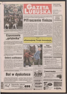 Gazeta Lubuska R. XLVI [właśc. XLVII], nr 98 (27 kwietnia 1998). - Wyd 1