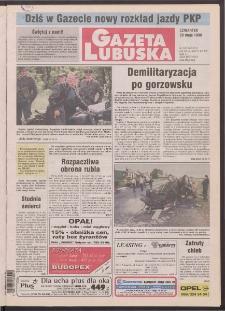 Gazeta Lubuska R. XLVI [właśc. XLVII], nr 124 (28 maja 1998). - Wyd 1