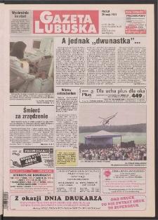 Gazeta Lubuska R. XLVI [właśc. XLVII], nr 125 (29 maja 1998). - Wyd 1