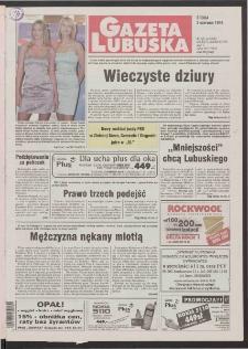 Gazeta Lubuska R. XLVI [właśc. XLVII], nr 129 (3 czerwca 1998). - Wyd 1