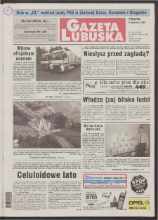 Gazeta Lubuska R. XLVI [właśc. XLVII], nr 130 (4 czerwca 1998). - Wyd 1