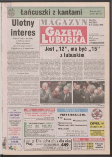 Gazeta Lubuska : magazyn R. XLVI [właśc. XLVII], nr 132 (6/7 czerwca 1998). - Wyd 1