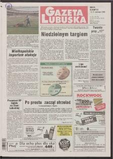Gazeta Lubuska R. XLVI [właśc. XLVII], nr 135 (10/11 czerwca 1998). - Wyd 1