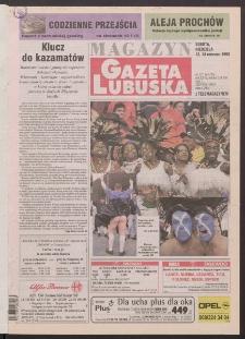 Gazeta Lubuska : magazyn R. XLVI [właśc. XLVII], nr 137 (13/14 czerwca 1998). - Wyd 1