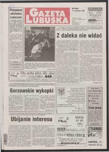 Gazeta Lubuska R. XLVI [właśc. XLVII], nr 139 (16 czerwca 1998). - Wyd 1