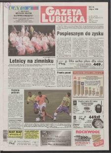 Gazeta Lubuska R. XLVI [właśc. XLVII], nr 158 (8 lipca 1998). - Wyd 1