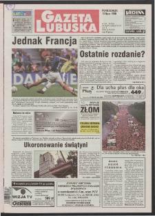 Gazeta Lubuska R. XLVI [właśc. XLVII], nr 162 (13 lipca 1998). - Wyd 1