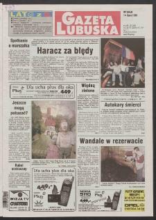 Gazeta Lubuska R. XLVI [właśc. XLVII], nr 163 (14 lipca 1998). - Wyd 1