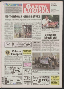 Gazeta Lubuska R. XLVI [właśc. XLVII], nr 177 (30 lipca 1998). - Wyd 1