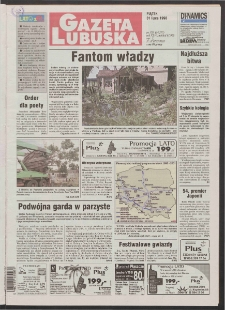 Gazeta Lubuska R. XLVI [właśc. XLVII], nr 178 (31 lipca 1998). - Wyd 1