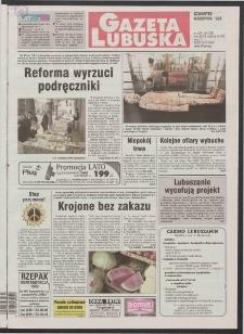 Gazeta Lubuska R. XLVI [właśc. XLVII], nr 183 (6 sierpnia 1998). - Wyd 1