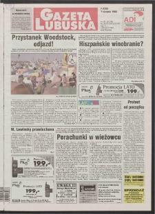 Gazeta Lubuska R. XLVI [właśc. XLVII], nr 184 (7 sierpnia 1998). - Wyd 1