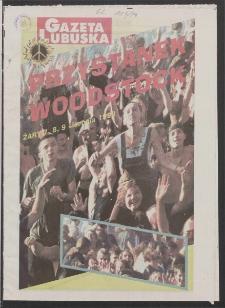 Gazeta Lubuska : magazyn R. XLVI [właśc. XLVII], nr 185 (8/9 sierpnia 1998). - Wyd 1