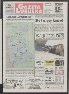 Gazeta Lubuska R. XLVI [właśc. XLVII], nr 186 (10 sierpnia 1998). - Wyd 1