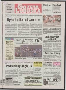 Gazeta Lubuska R. XLVI [właśc. XLVII], nr 189 (13 sierpnia 1998). - Wyd 1