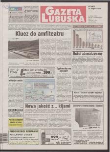 Gazeta Lubuska R. XLVI [właśc. XLVII], nr 192 (18 sierpnia 1998). - Wyd 1
