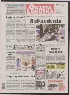 Gazeta Lubuska R. XLVI [właśc. XLVII], nr 199 (26 sierpnia 1998). - Wyd 1