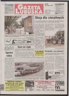 Gazeta Lubuska R. XLVI [właśc. XLVII], nr 201 (28 sierpnia 1998). - Wyd 1