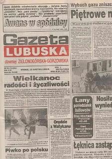 Gazeta Lubuska : dawniej Zielonogórska-Gorzowska R. XLIII [właśc. XLIV], nr 37 (13 lutego 1995). - Wyd. 1