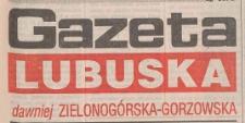 Gazeta Lubuska : magazyn : dawniej Zielonogórska-Gorzowska R. XLIII [właśc. XLIV], nr 252 (28/29 października 1995). - Wyd. 1