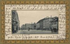 Żary / Sorau N.-L; Marktplatz