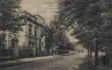 Zielona Góra / Grünberg i. Schl.; Bahnhofstrasse; al. Niepodległości