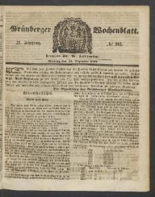 Grünberger Wochenblatt, No. 103. (24. Dezember 1855)