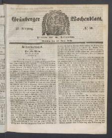 Grünberger Wochenblatt, No. 50. (23. Juni 1856)