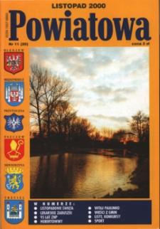 Powiatowa, nr 11 (20) (listopad 2000)