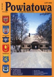 Powiatowa: miesięcznik niezależny, nr 2 (35) (luty 2002)