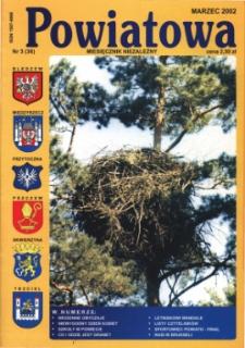 Powiatowa: miesięcznik niezależny, nr 3 (36) (marzec 2002)